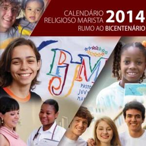Calendário Religioso Marista 2014