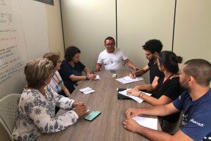 Reunião na Paróquia Consolata junto com o Instituto de Migrações e Direitos Humanos