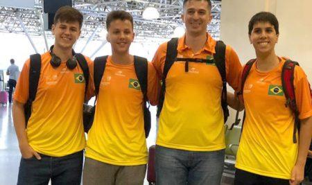 Estudantes de Brasília participam de treinamento esportivo nos Estados Unidos