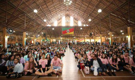 Encontro de Jovens Maristas reúne mais de 1,3 mil pessoas em Erechim
