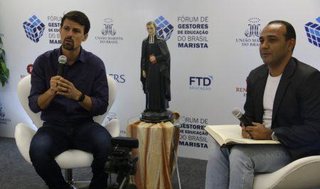 Mais de 2 mil pessoas participam, virtualmente, do Fórum de Gestores de Educação do Brasil Marista