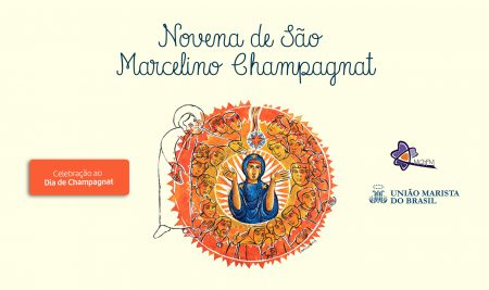 Movimento Champagnat da Família Marista promove novena virtual de São Marcelino Champagnat