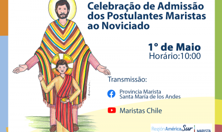 Noviciado Regional celebra chegada de Postulantes